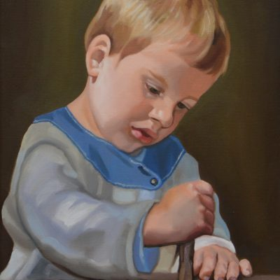 Het spelende kind, 30x40cm,  2017