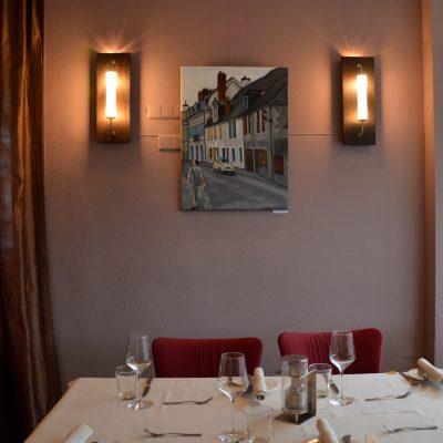 expo in restaurant in geuren en kleuren, Berg en dal